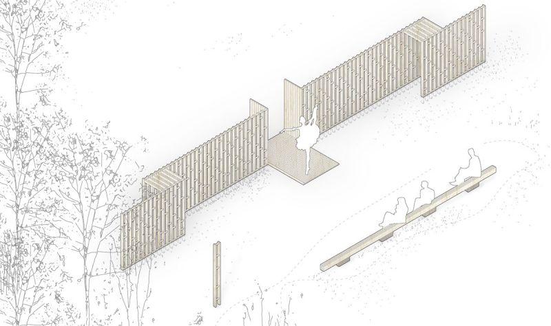 arquitectura festival masmadera 2020 ganadores concurso interactua segundo premio