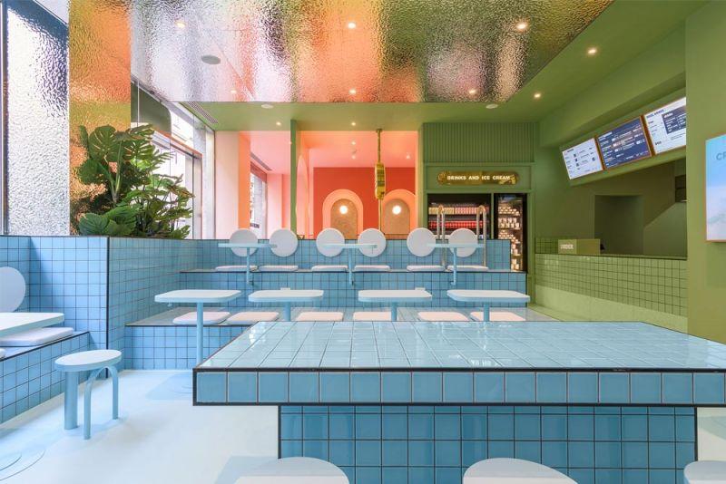 Imagen interior de detalle del restaurante