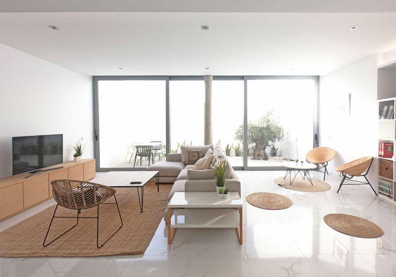 arquitectura casas costacabana foto interior salon