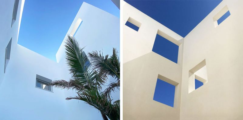 arquitectura casas costacabana foto patios