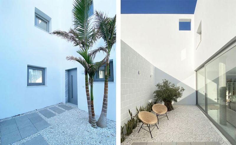 arquitectura casas costacabana foto exterior patios acceso