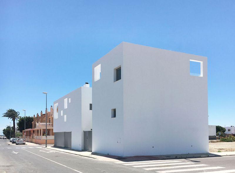 arquitectura casas costacabana foto exterior alzados