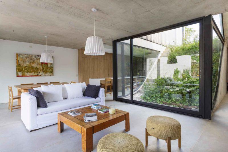 arquitectura_y_empresa_memo house_salón cocina