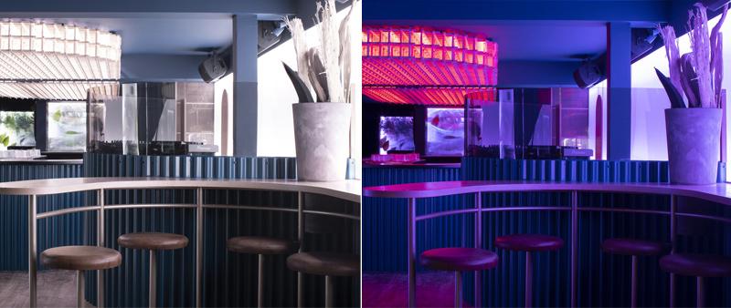Arquitectura y Empresa, Blanchette Architectes, Canadá, Montreal, bar, restauración, club de copas, música, iluminación, madera, Atelier Welldone, Mathieu Ménard, Steve Grenier, espacio flexible, polivalente, multifuncional