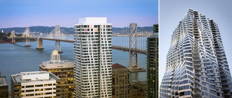 Arquitectura y Empresa, torre, EEUU, USA, Estados Unidos, Scott Hargis,  Studio Gang, edificio residencial, viviendas de lujo, 122 metros, San Francisco, SoMa, Embarcadero, muro cortina