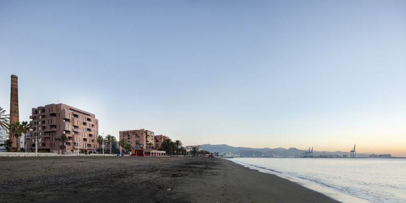 arquitectura muñoz miranda architects 73 viviendas foto exterior playa