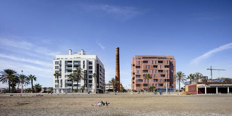 arquitectura muñoz miranda architects 73 viviendas foto exterior frontal