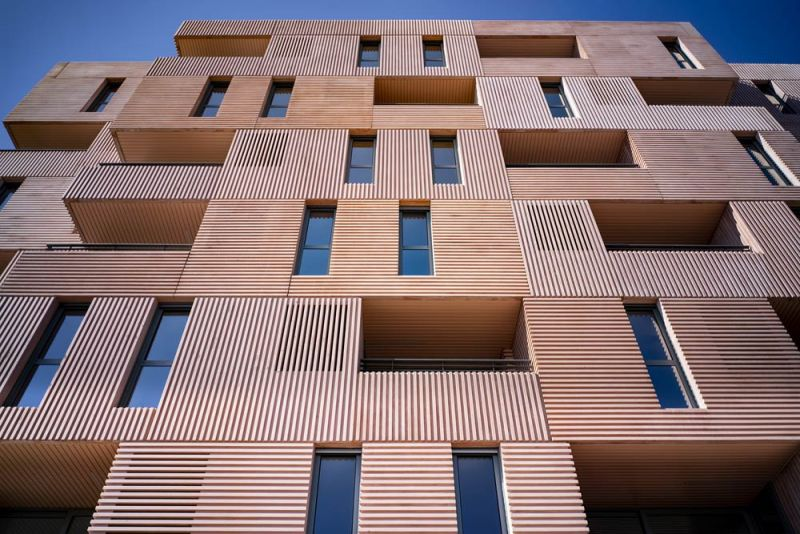 arquitectura muñoz miranda architects 73 viviendas foto exterior detalle