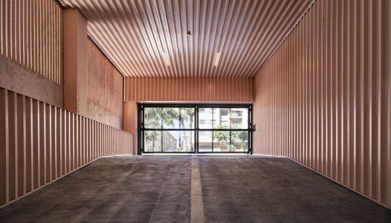 arquitectura muñoz miranda architects 73 viviendas foto garaje