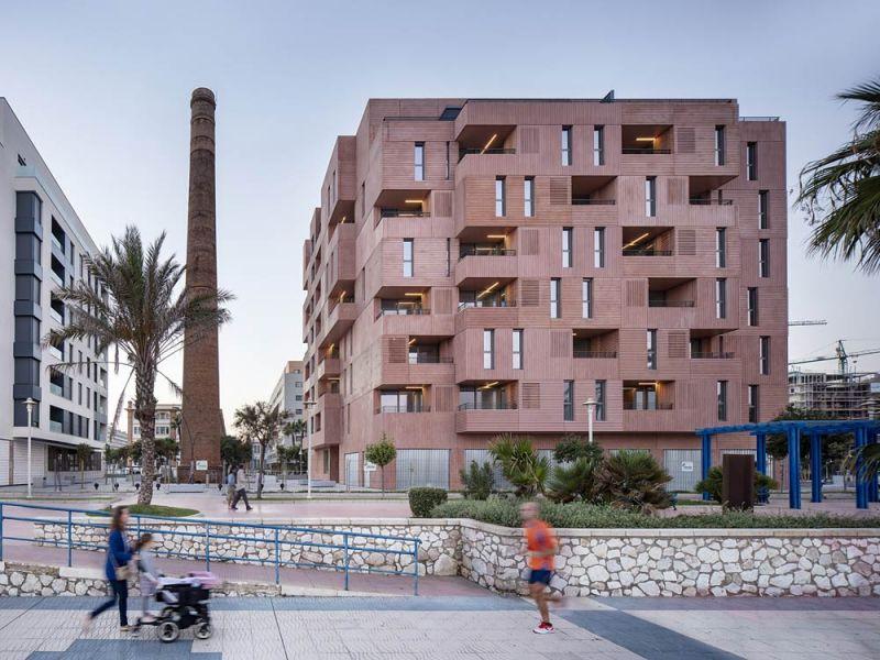 arquitectura muñoz miranda architects 73 viviendas foto exterior