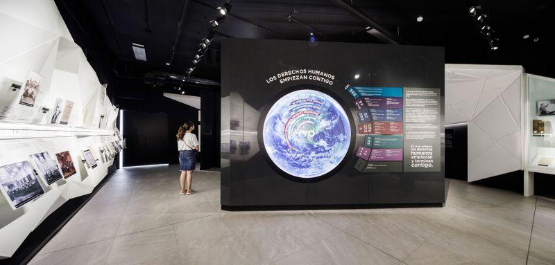 Museo de la Libertad y Derechos Humanos_ una sala de exposiciones