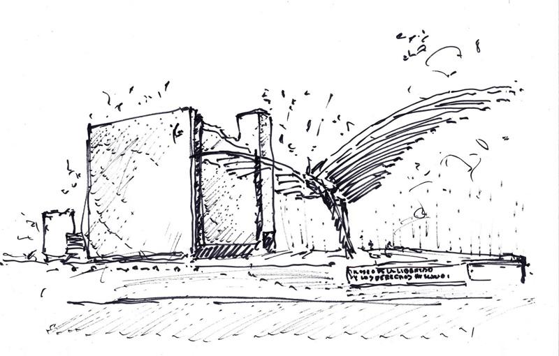 museo libertad derechos humanos_ boceto de proyecto