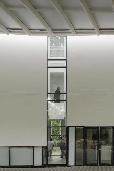 Museo Libertad _derechos humanos_ doble altura fachada