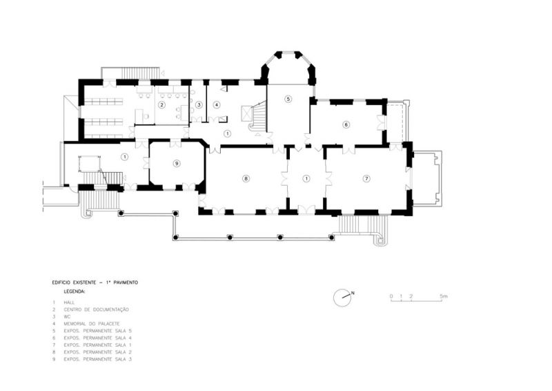 Museo Rodin Bahia_Planta primera