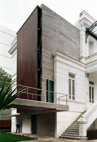 Museo Rodin Bahia_encuentro entre los dos edificios