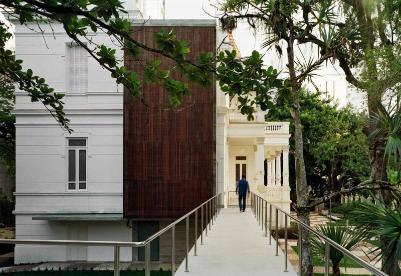 Museo Rodin Bahia_ pasarela de conexion