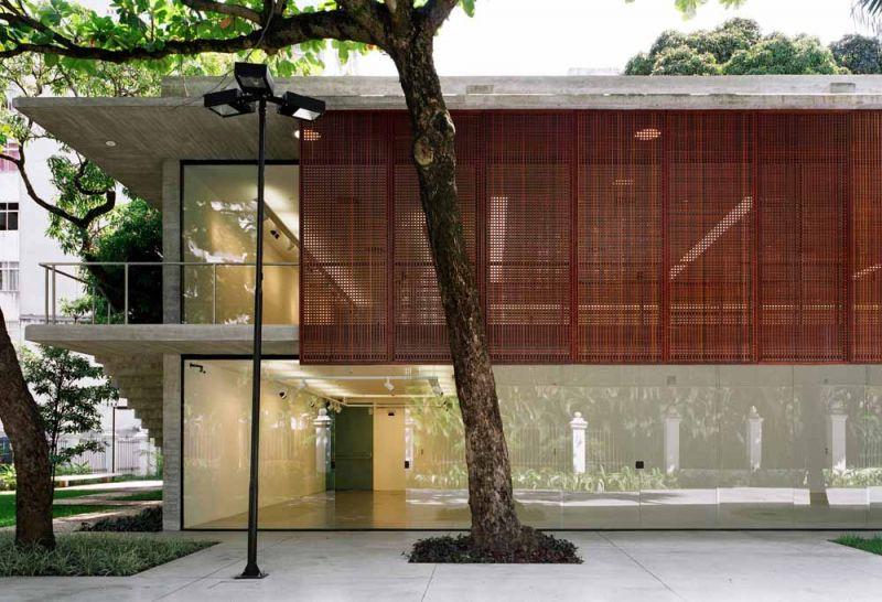 Museo Rodin Bahia_ Anexo_vista alzado 1