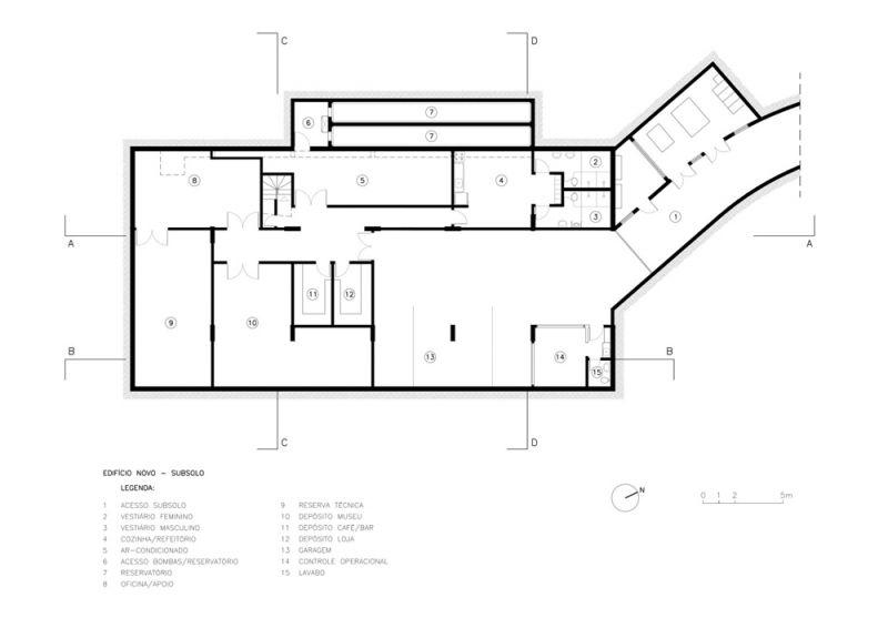 Museo Rodin Bahia_ Anexo subsuelo