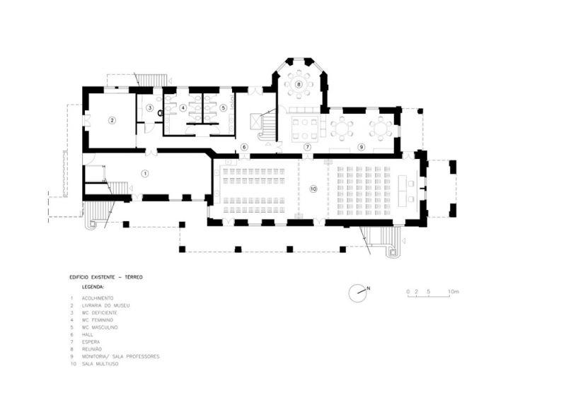 Museo Rodin Bahia_ Planta Baja