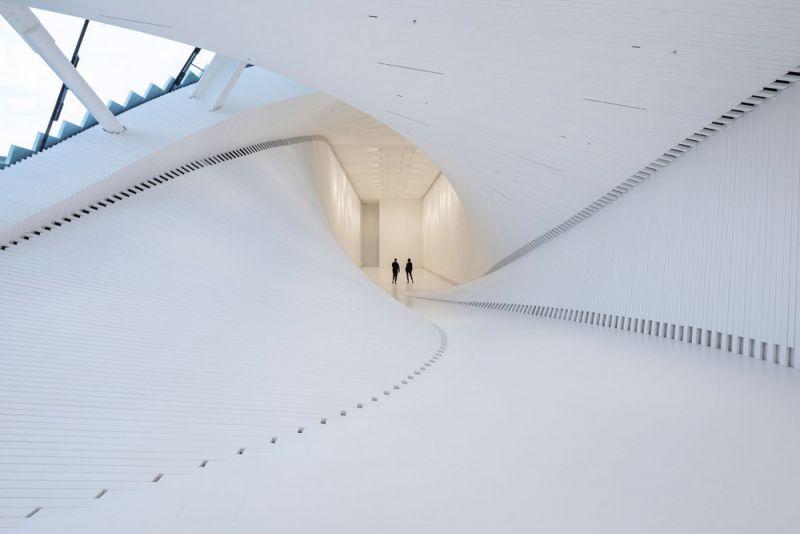 museo twist_vista del tunel de conexion
