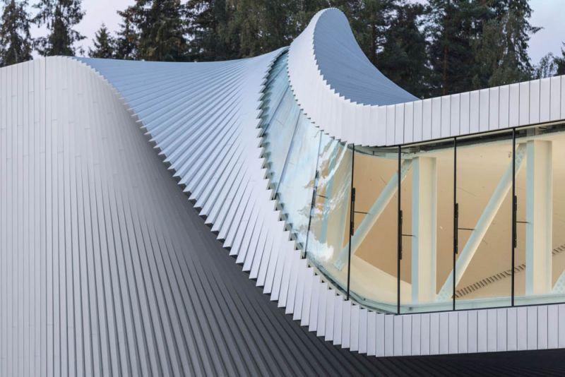 museo twist_ vista de los paneles exteriores