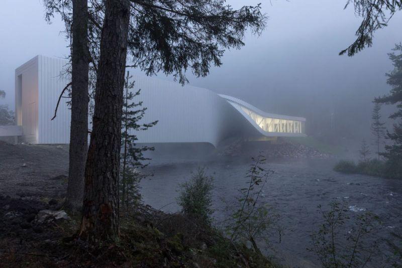 museo twist_vista desde el bosque niebla