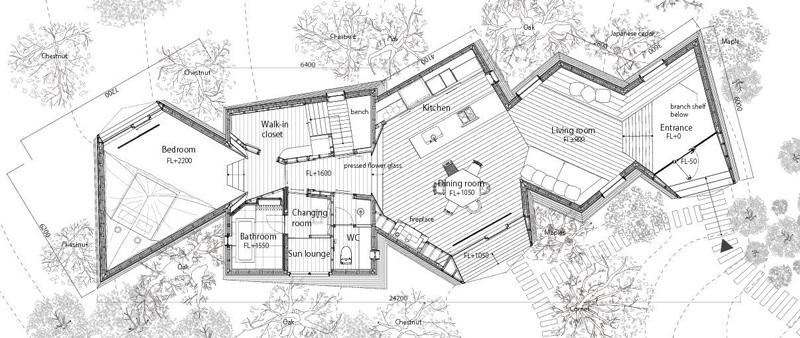 Arquitectura y Empresa, Koji Fuji, Nacasa & Partners Inc, Hiroshi Nakamura & NAP, casa, vivienda, unifamiliar, residencial, Nasu Tepee, Japón, arquitectura japonesa
