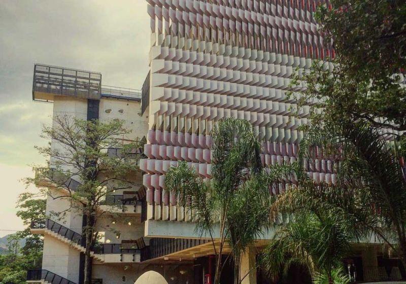El Centro de Innovación Argos desde una vista peatonal