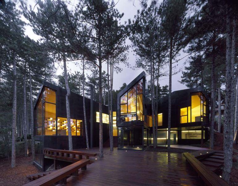 arquitectura casa levene el escorial foto exterior