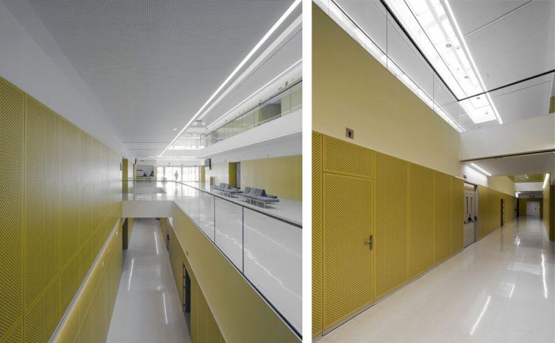 escuale universitaria de osuna unia arquitectos foto atrio central