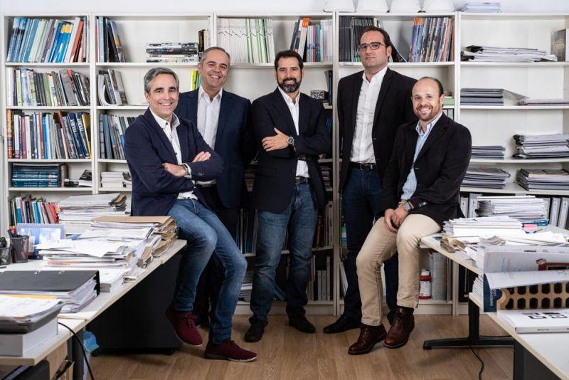 arquitectura unia arquitectos foto socios estudio