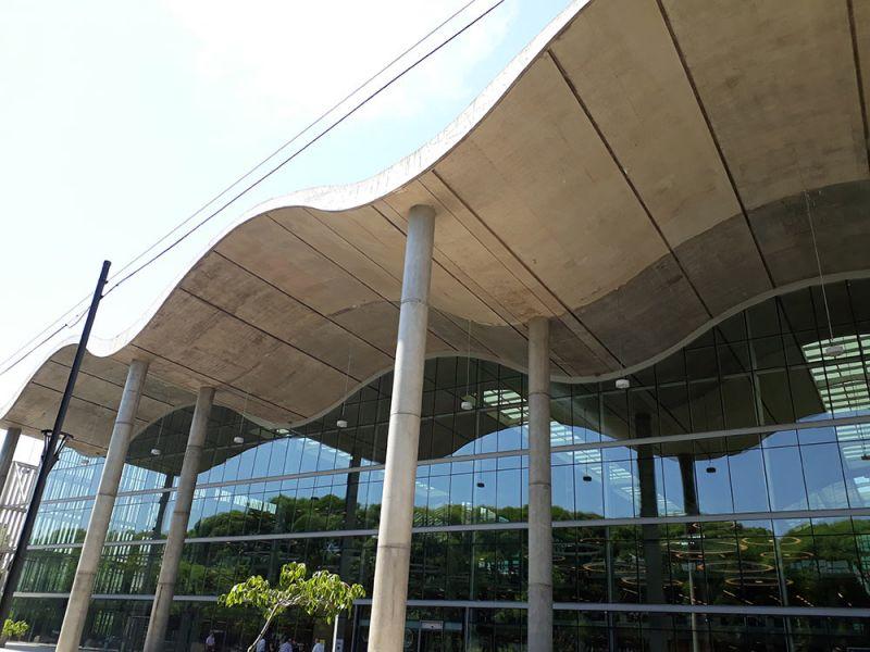 arquitectura cubierta ondulada jefatura porteña