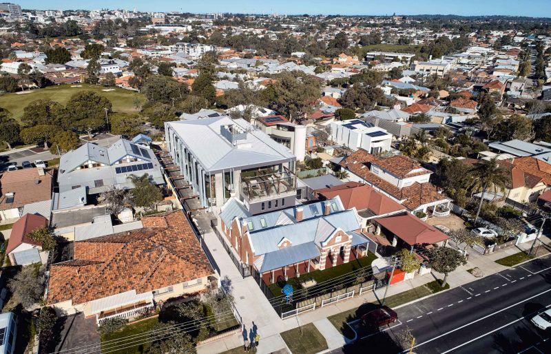 arquitectura_y_empresa_North Perth Childcare_vista aérea