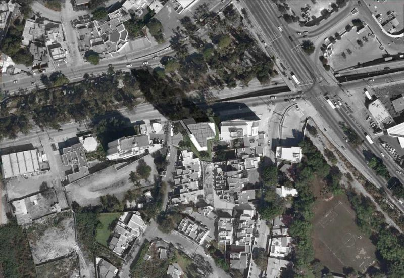 arquitectura carlos ferrater oab torre hipodromo planta ubicacion foto aerea
