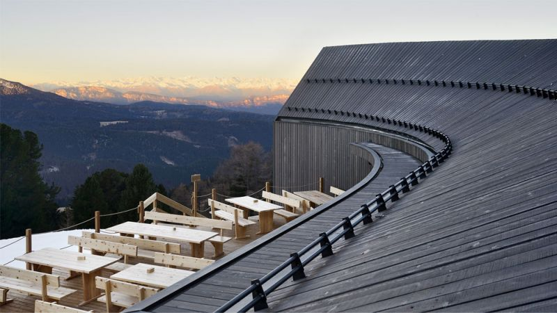 Imagen desde la terraza panorámica exterior