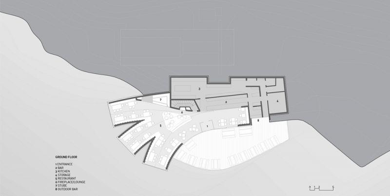 Planta principal del edificio