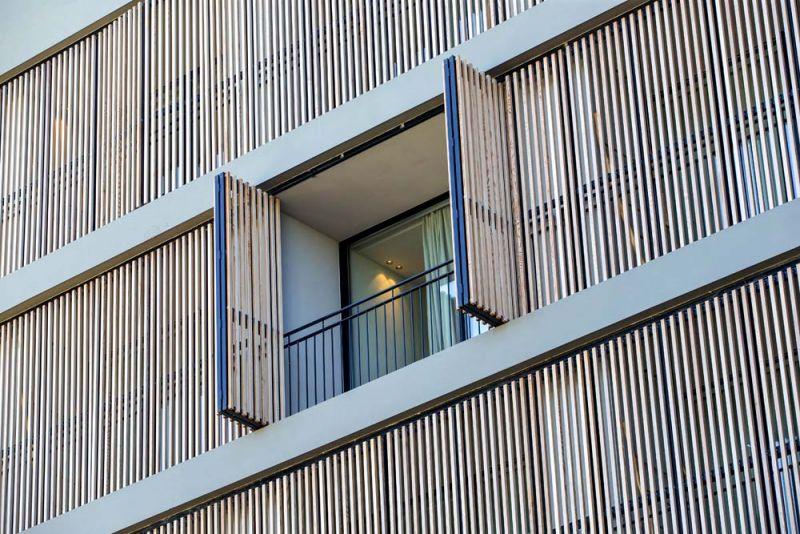 arquitectura celosia madera gradhermetic gradpanel serie cl w 35 cedro rojo macizo