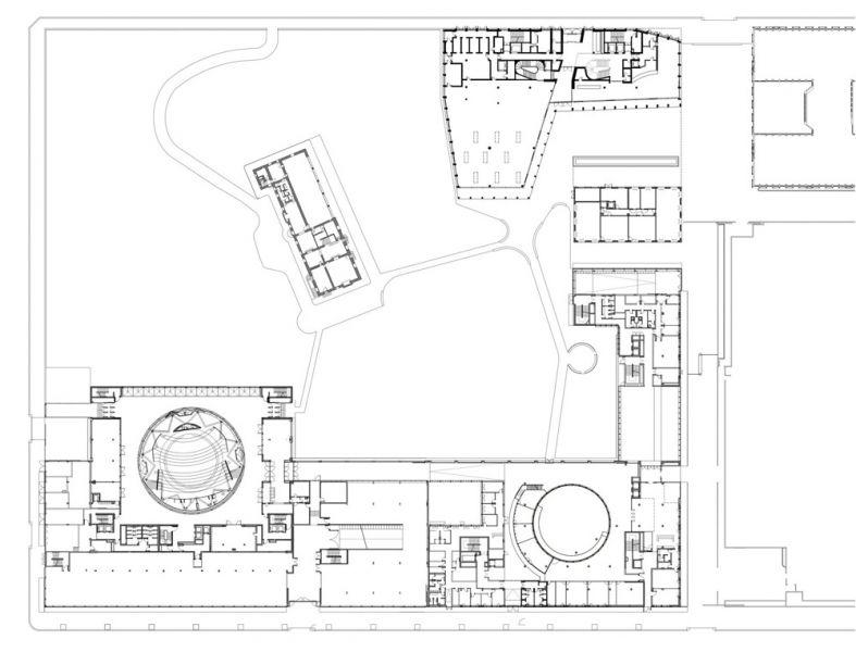 Planta del emplazamiento del campus Pirelli