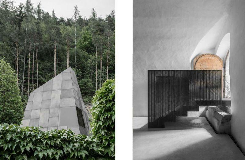 Imágenes del proyecto histórico versus contemporaneo