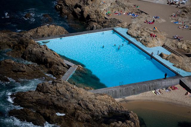 piscina das marés siza vista aérea piscina