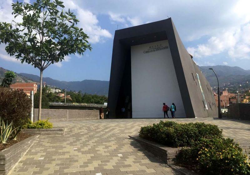 Plataforma urbana del Museo Casa de la Memoria