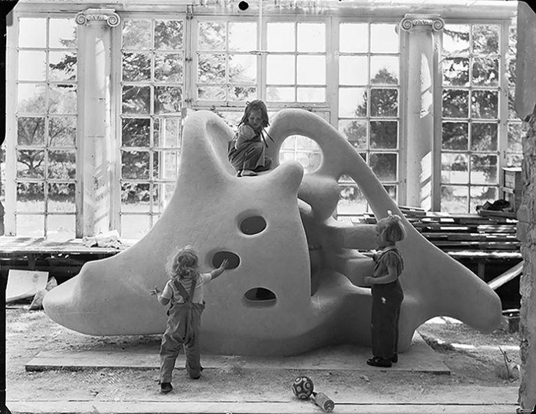 escultura de juego infantil Egon Møller-Nielsens