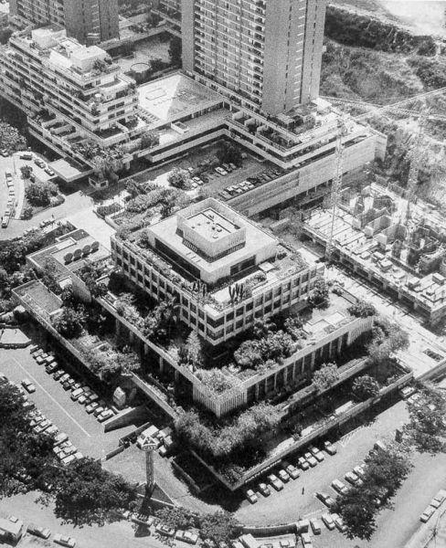 La plaza  del Hotel Humboldt
