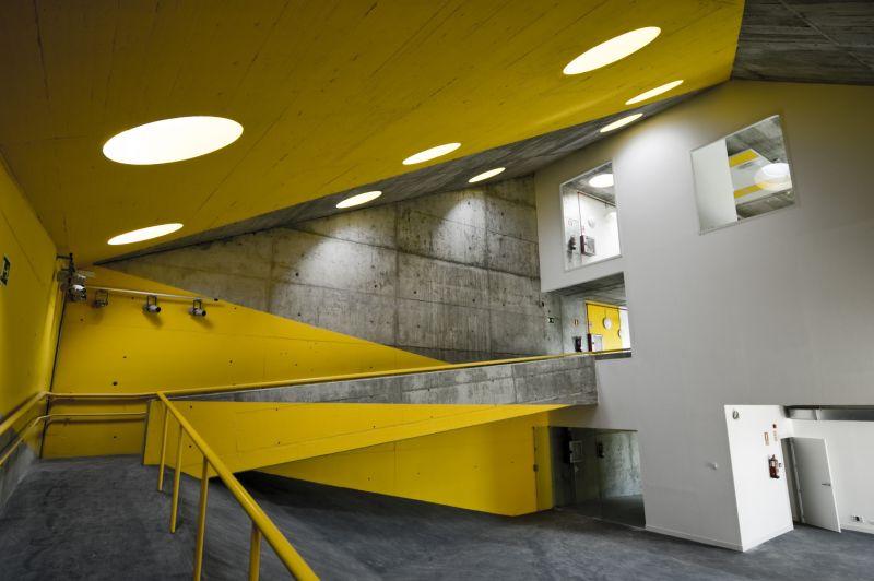 Imagen interior del edificio