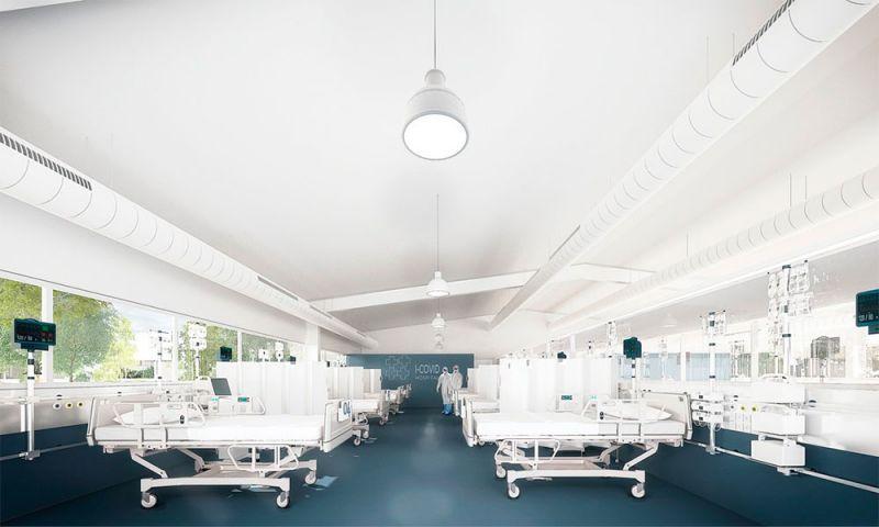 I-COVID SYSTEM, vista interior