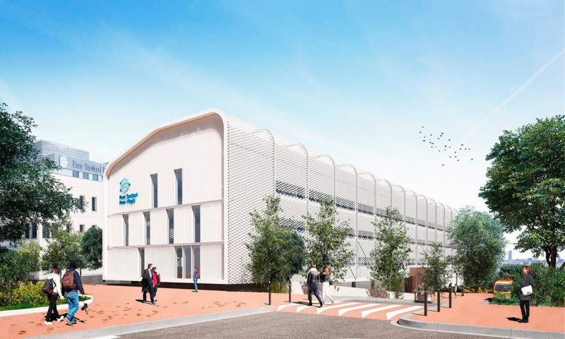 I-COVID COMPACT en Parc Sanitari Pere Virgili (Barcelona) , en construcción