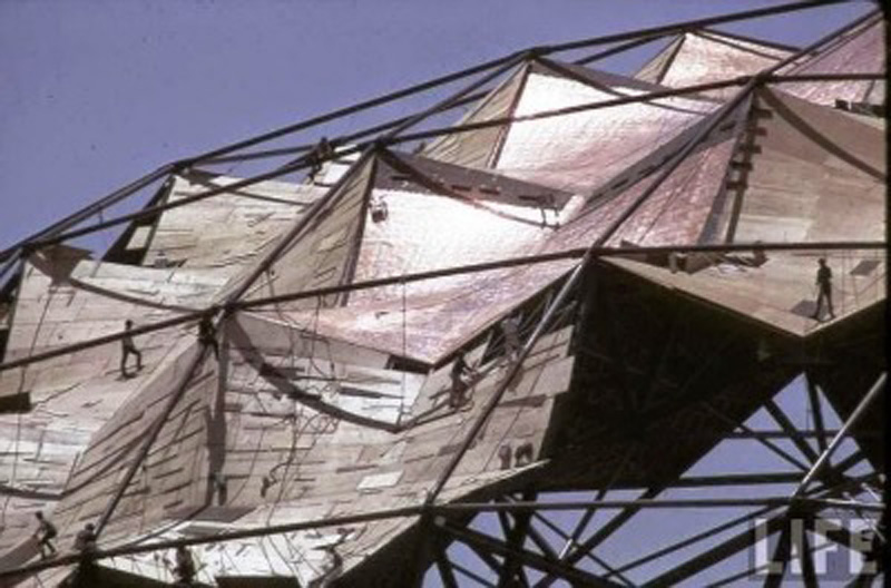 poliedro de caracas_estructura geodésica cubierta