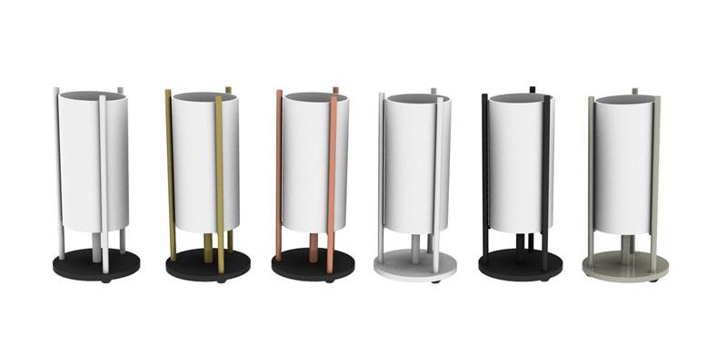 Arquitectura y Empresa, Pujol Iluminación, lámpara sobremesa, Escuela Bauhaus, estilo Bauhaus, diseño de producto, NEO, luminaria, metal, vidrio tubular, minimalista, iluminación interior