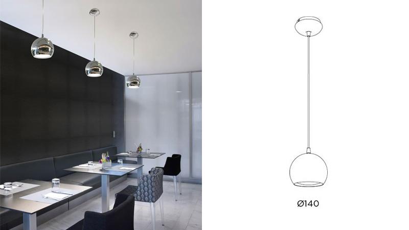 Arquitectura y Empresa, Pujol Iluminación, vivienda, iluminación, comedor, diseño español, diseño de producto, luminarias de diseño, lámparas, plafones, luminarias lineales, BOINA, BOLA, MINI, TOMAS