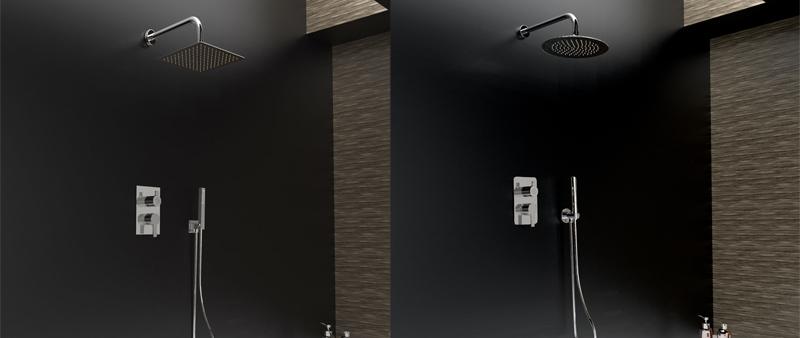Arquitectura y Empresa, Ramón Soler, grifería, baño, ducha, kit Blautherm, monomando, eficiencia, sostenibilidad, ahorro de agua, ahorro energético